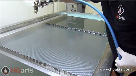 Kertas Water Printing Motor Drag Proses Pembuatan Motif Carbon