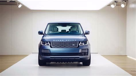 land rover safari 2018 2018 range rover facelift officially revealed p400e phev