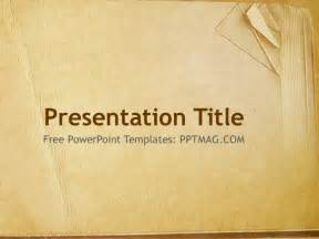 Book Powerpoint Templates by Free Book Paper Powerpoint Template Pptmag
