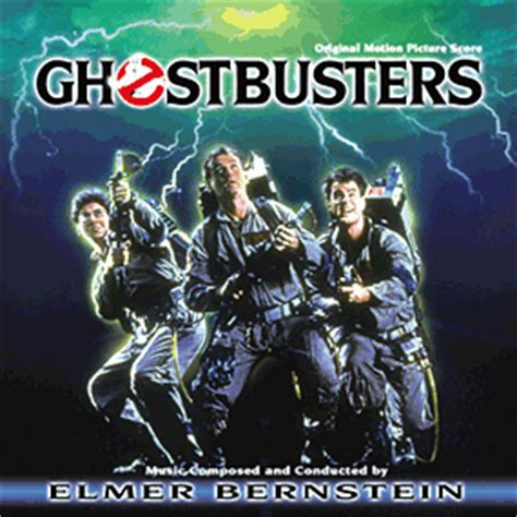 film ghost theme song ghostbusters score soundtrack 1984