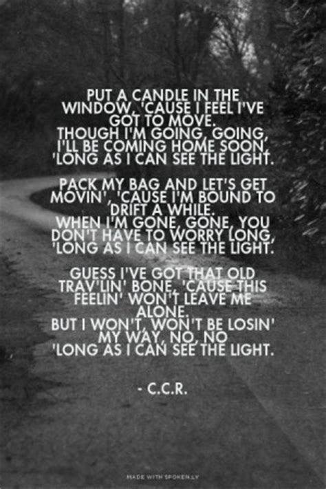 ccr song quotes quotesgram