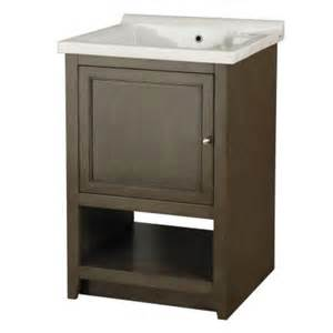 Utility Cabinet Home Depot - foremost westmount laundry cabinet in loden green and vitreous china sink in white discontinued