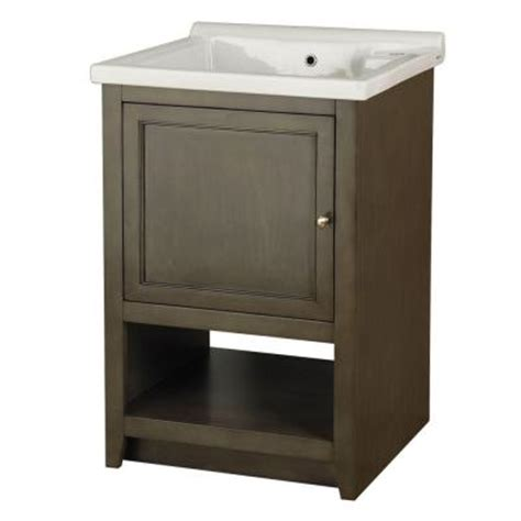 Laundry Sink Cabinet Home Depot foremost westmount laundry cabinet in loden green and
