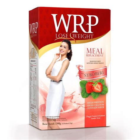 wrp lose weight rasa stroberi 300gr gogobli