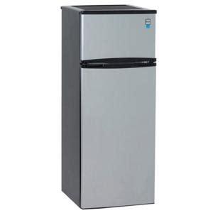 Apartment Fridge Home Depot Avanti 7 4 Cu Ft Apartment Size Top Freezer Refrigerator