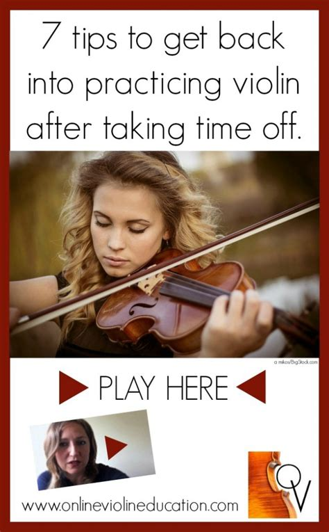 7 Tips For Getting Back In The Mood After A Pregnancy by How To Get Back Into Practicing Violin Violin