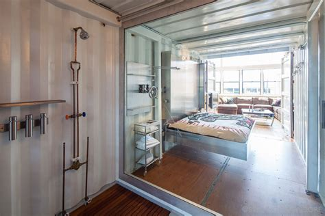 shipping container homes shipping containers in loft sf loft in san francisco california by wardell sagan