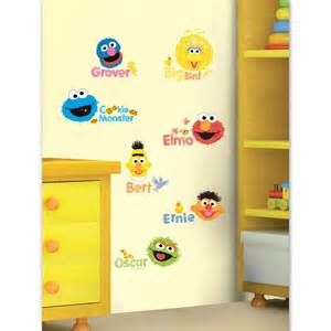 Elmo Wall Stickers peel amp stick wall decals shop the sesame street official store