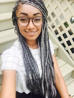 black to grey ombre box braids hairstyles gorgeous grey ombre box braids love this color hair get
