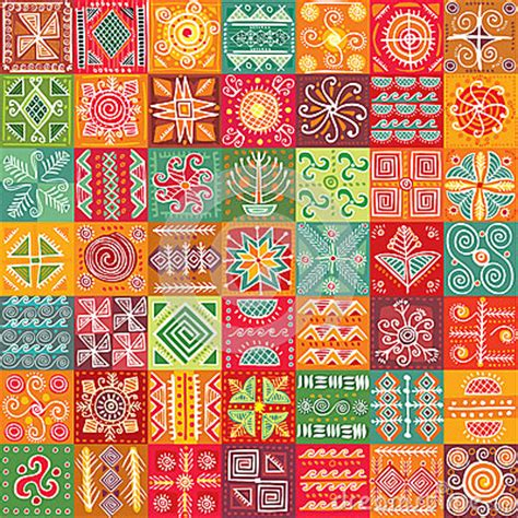Daster Motif Tato Tribal seamless tribal texture royalty free stock image image 29406966