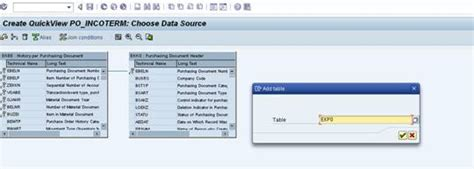 sap quick viewer tutorial generating simple reports through sap quick viewer