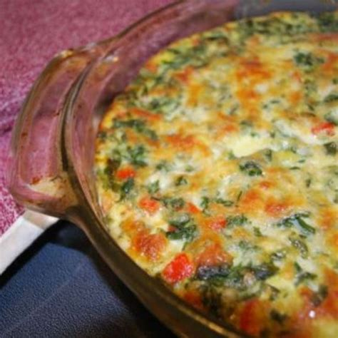protein quiche healthy spinach quiche high protein low carb recipe