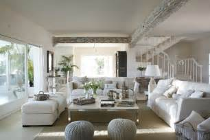 White Home Interiors by Classic Style Interior Design In White And Beige 4betterhome