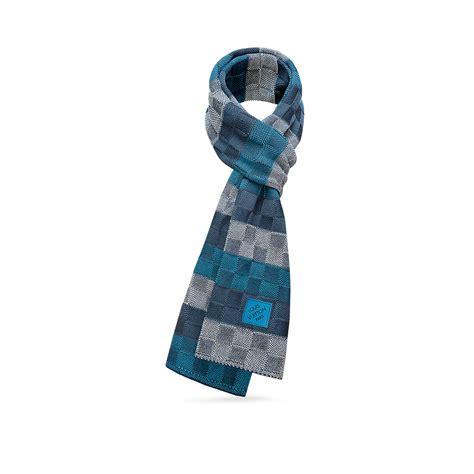 lv pattern scarf damier line scarf accessories louis vuitton