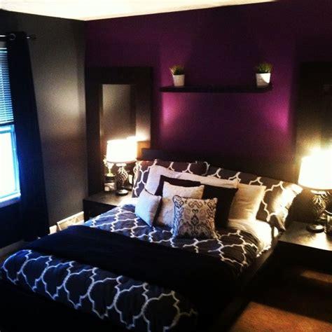 plum colored bedroom ideas best 25 purple accent walls ideas on pinterest purple