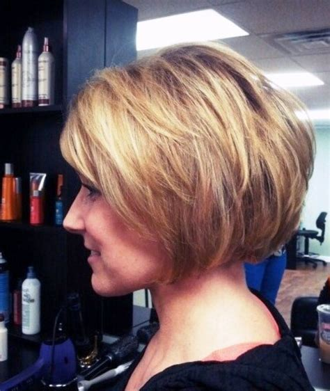 stacked short hair cuts front and back view stacked bob haircut back to post short stacked bob