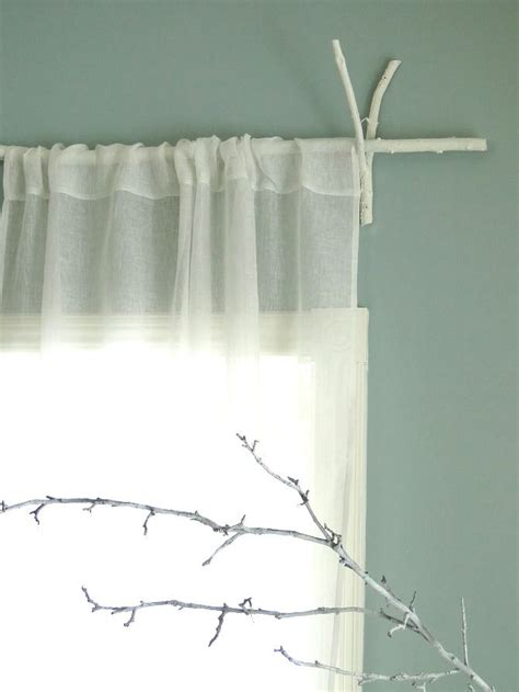 cabin curtain rods rustic curtain rods i ve got plenty of sticks in the