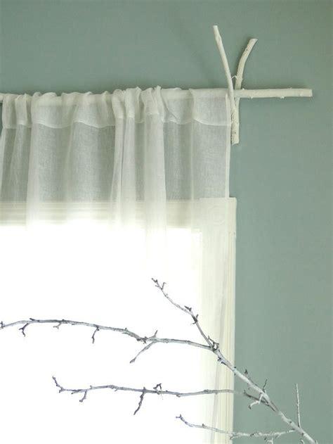branch curtain rod rustic curtain rods i ve got plenty of sticks in the
