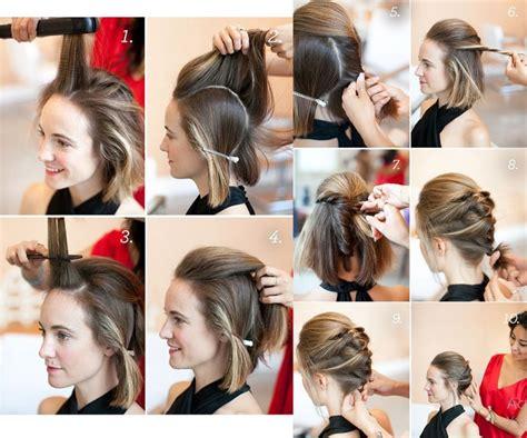 peinados paso a paso pelo corto peinados para pelo corto con ideas paso a paso