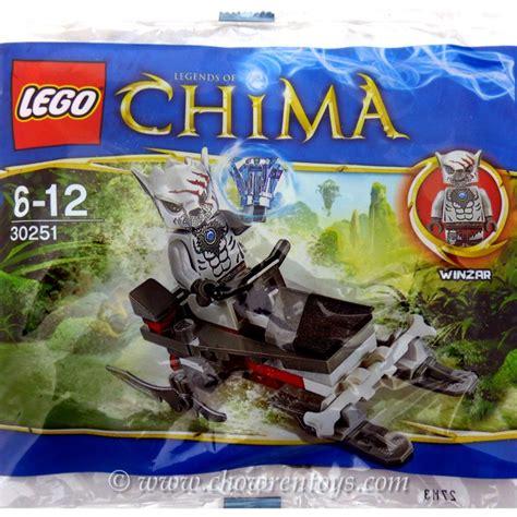Lego Chima 30251 Winzar S Pack Patrol Polybag lego legends of chima sets 30251 winzar s pack patrol new