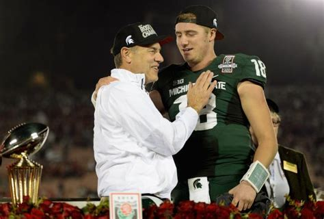 michigan state coach bowl 2014 dantonio takes place among college
