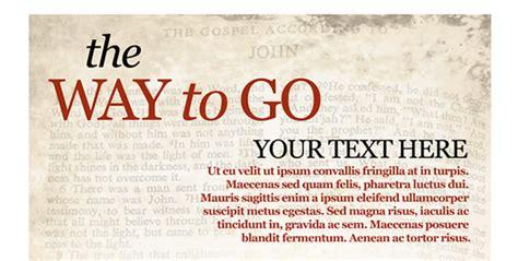 templates for christian flyers christian postcard template church art