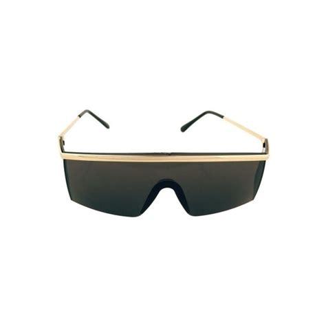 Oceanseven Robocop Vintage 9 80 s black gold robocop visor sunglasses vintage