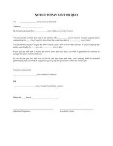 pay or quit notice template best photos of 10 day eviction notice form 10 day