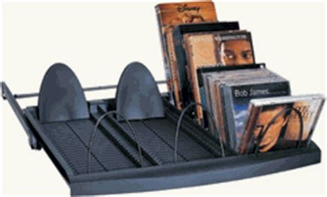 cd rack best buy best cd dvd vhs multimedia 3 row pull out tray rack with