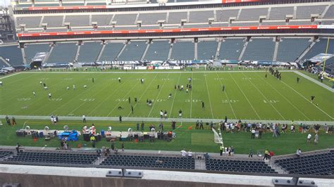 lincoln sections club level lincoln financial field football seating