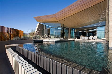 gallery of desert wing kendle design 20 beautiful homes surrounded by desert and mountains