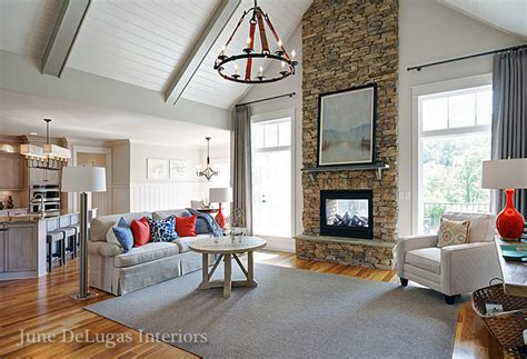 new home interior design lakefront cottage winston salem interior designers decorators june delugas