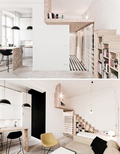 Space Saving Bookcase Steps To Saving Space 15 Compact Stair Designs For Lofts