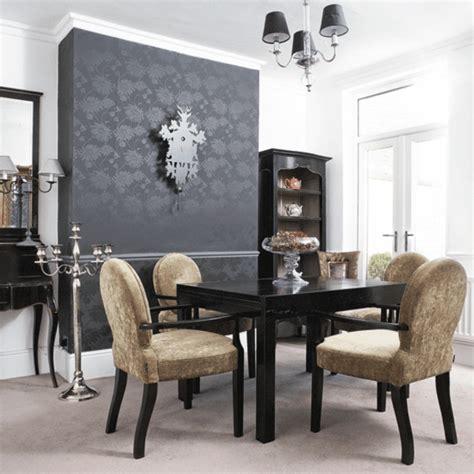 moderne wände dekor esszimmer grau