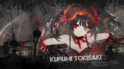 wallpaper anime date a live date a live kurumi computer wallpapers desktop