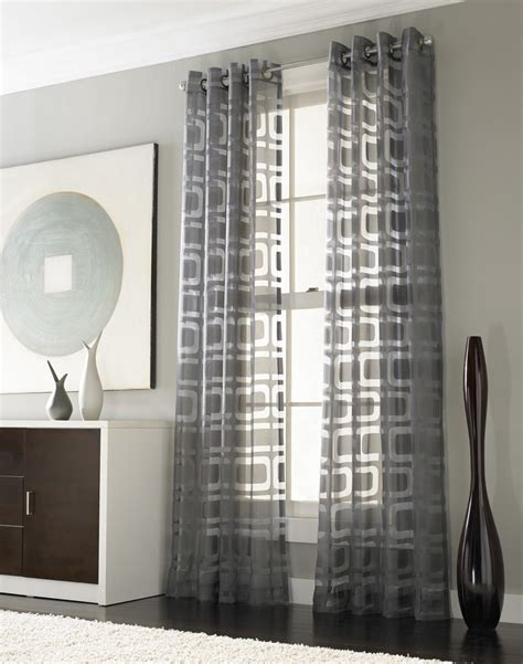 modern grommet curtain panels othello modern geometric curtain panels curtainworks com