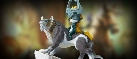 Amiibo Figure Wolf Link wolf link amiibo functionality and new figures shown for