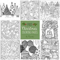 Pages for adults free christmas adult coloring pages u create
