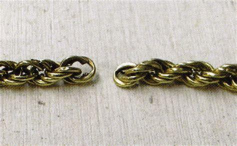 How to Repair a Hollow Rope Chain   Ganoksin Jewelry