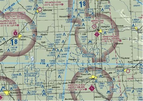 Sectional Center Facility Map by Tfr Data Elements