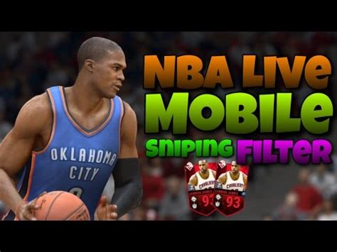 the best players to snipe now live sniping the best sniping filter nba live mobile