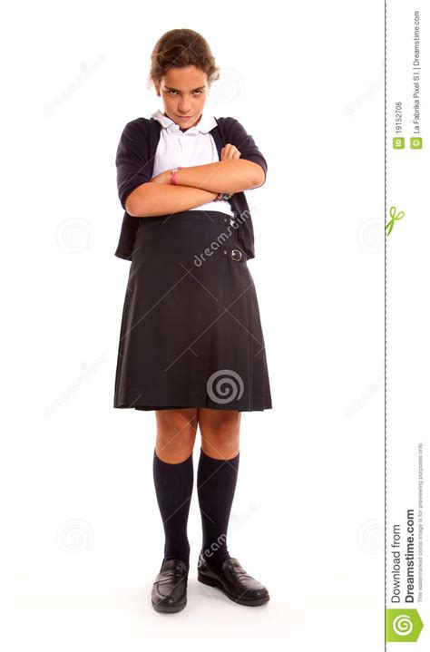 school girl uniform stock photos pictures royalty free very angry schoolgirl royalty free stock image image