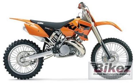 2004 Ktm 250 Sx Specs 2004 Ktm 250 Sx Specifications And Pictures