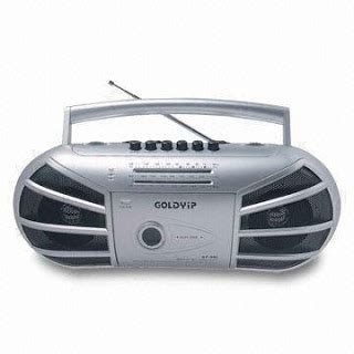 portable cassette player goldyip portable cd cassette players recorder mic fm radio