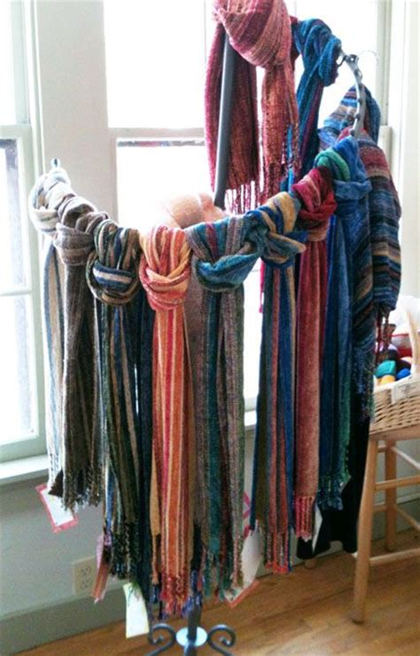 17 best ideas about scarf display on