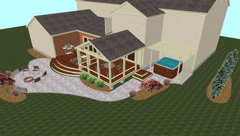porch design software screen porch patio and deck design design build