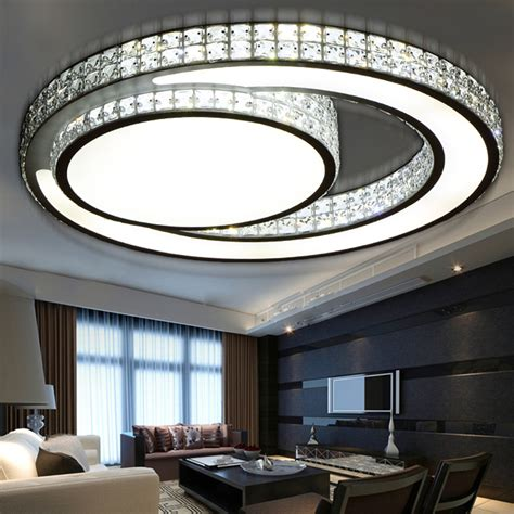 Living Room Led Ceiling Lights Aliexpress Buy Modern Led Ceiling Lights Acrylic Living Room Bedroom Ceiling L