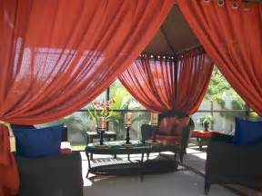 patio pizazz indoor outdoor gazebo drapes curtains price includes 2 panels ebay
