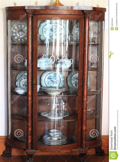 Renew Kitchen Cabinets by Antique China Cabinet Stock Images Image 34910414