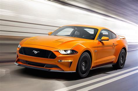 2018 ford mustang officially revealed more power tech